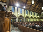 Chapel programming focuses on Christian formation