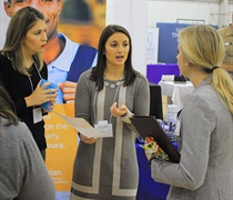 Career fair draws hundreds of recruiters to campus