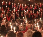 Christmas Candlelight Service brightens season