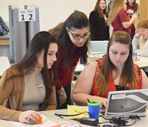 College offers Girls Who Code workshop