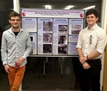 Physics majors win research poster prize