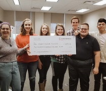 eCommerce class project generates money for charities