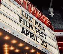 Lux Mea festival shines a light on student filmmakers