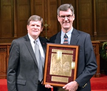 Powell earns Professor of the Year honor