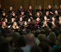 Choirs take on 'Requiem,' honor retiring organist