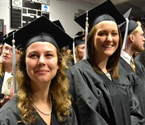 Grove City College confers degrees on 595