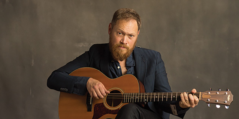 Nashville singer-songwriter Andrew Peterson playing GCC