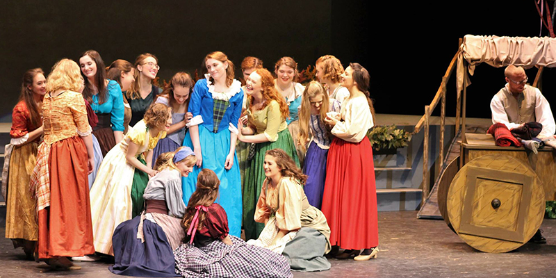 'Brigadoon' brings Scottish charm to College stage