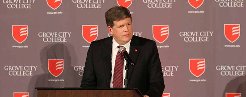President McNulty: 'The state of our College is strong'