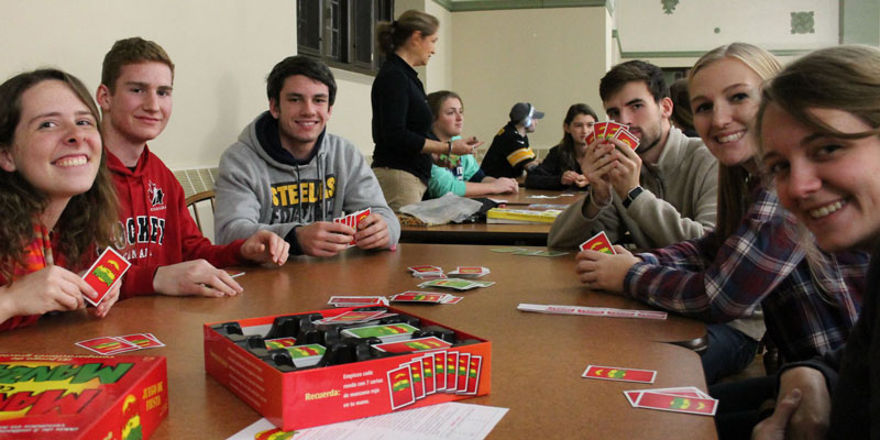 Modern Languages hosts Spanish Immersion Game Night