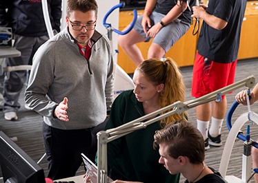Exercise science students, top scientist publish research