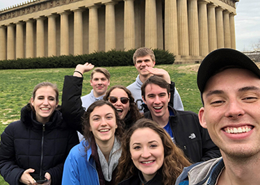 Touring Choir sings through the Southeast on spring break