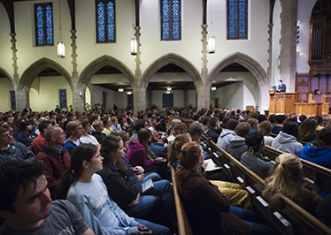 Chapel Program and Campus Ministries plan for fall return