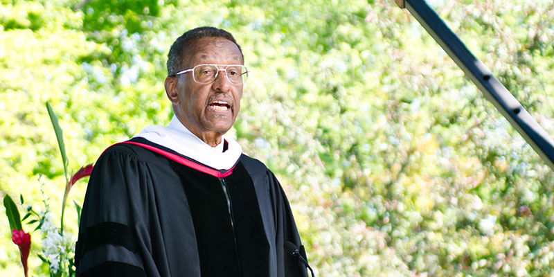 College mourns Honorary Trustee Walter E. Williams
