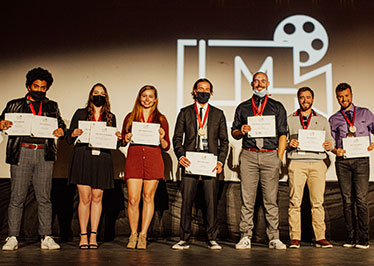 And the winner is …. Grove City College student filmmakers
