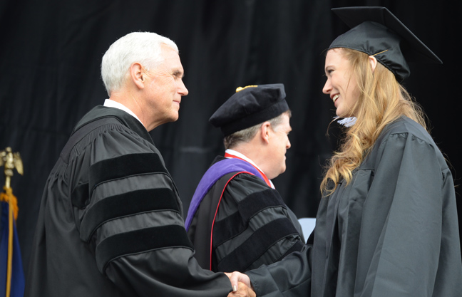Vice President to grads: You are called to lead