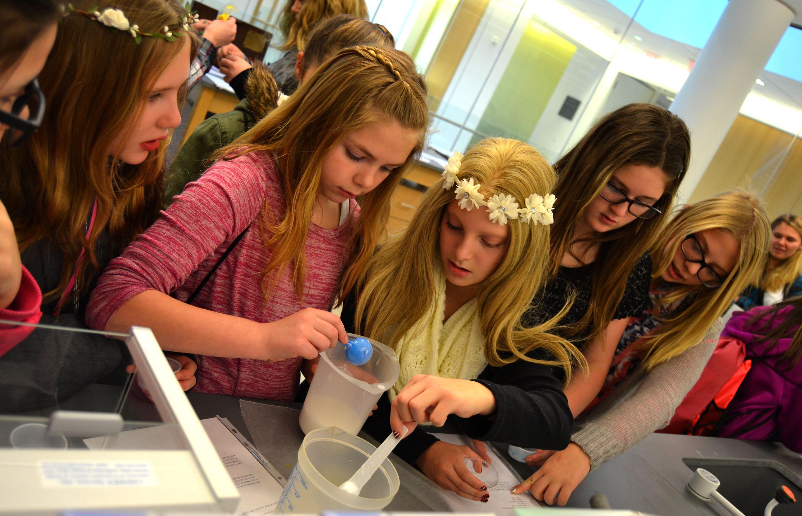 College hosts Women in STEM summit for area students